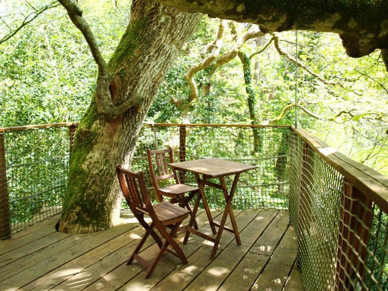 Cabane dans les arbres JONQUILLE