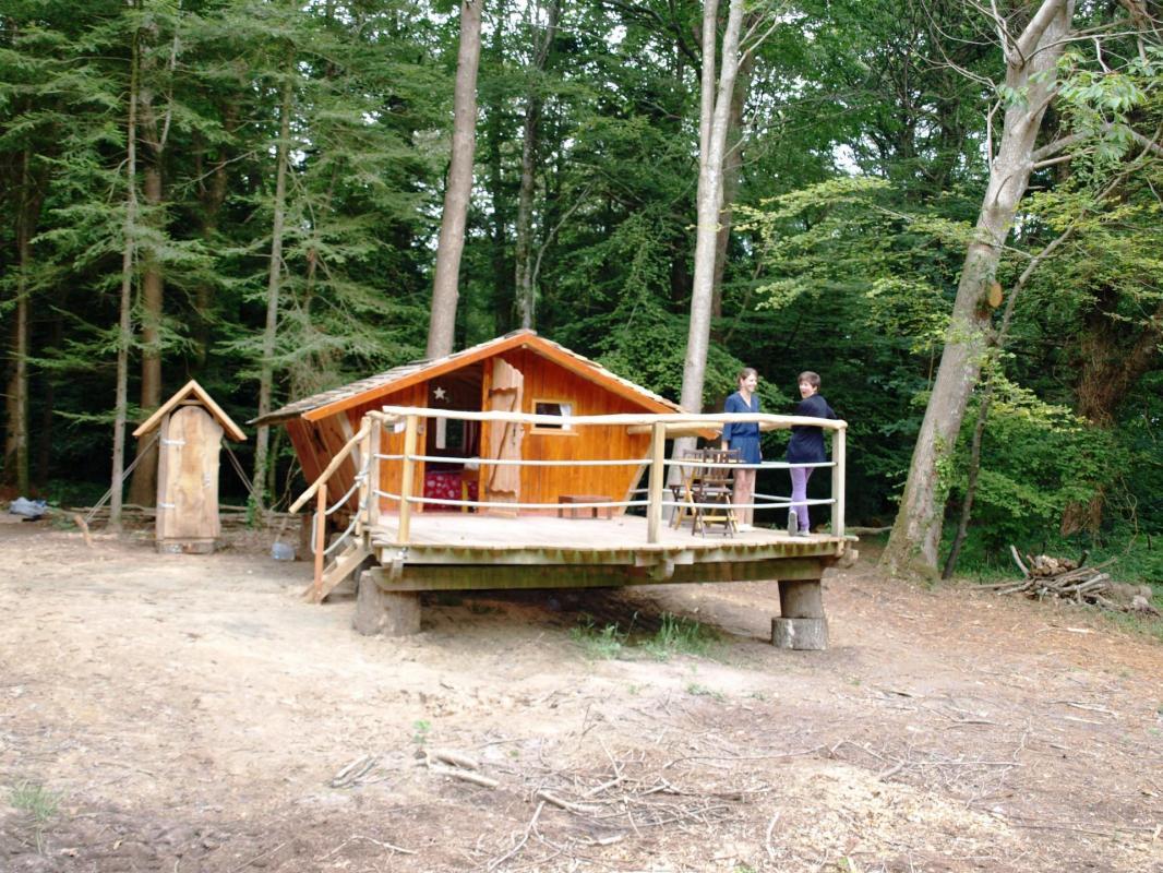 Cabane dans les bois Stella