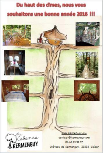 Voeux cabanes de kermenguy 2016